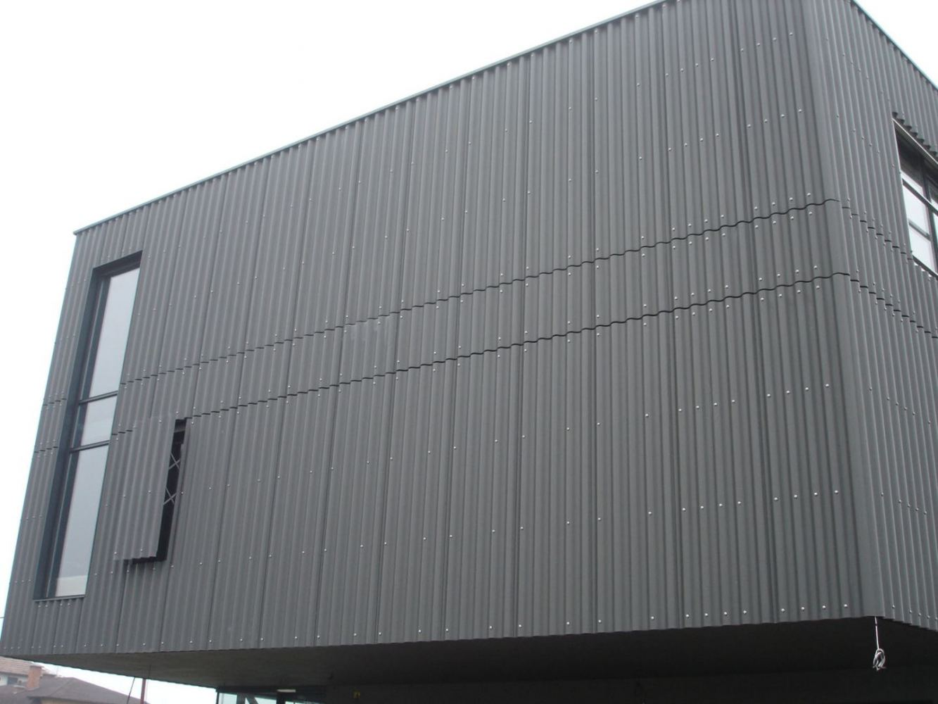 Corrugated Fibre Cement Facades Corel 67