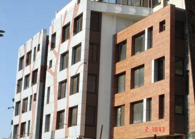 Silver City - Sofia - darvena fasada Prodema