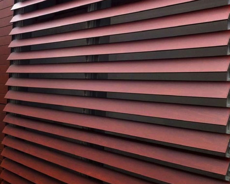 Prodema Louvers And Ciding From Hpl Corel 67